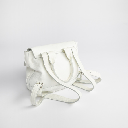 Clyde Small Room Backpack - White