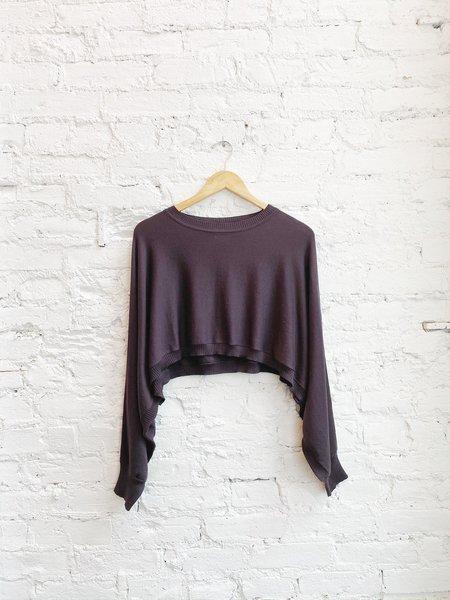 Planet Hip Shrug sweater - Raisin