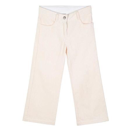 Kids Stella McCartney Child Jumbo Cord Pants - Cream