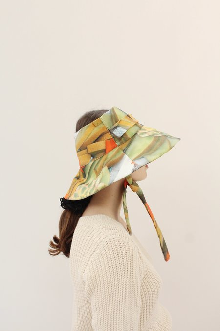 Beklina Lavoro Hat - Melon Platter