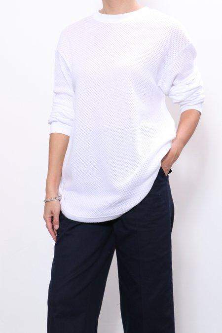 Rachel Comey Shokan Tee - White Pointelle Jersey