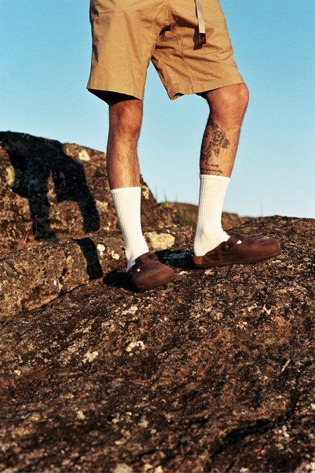Birkenstock Boston Soft Footbed Shoe - Oiled Habana