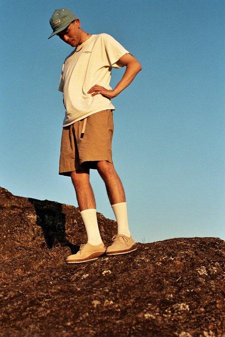 Birkenstock Gary Suede Shoe - Sand