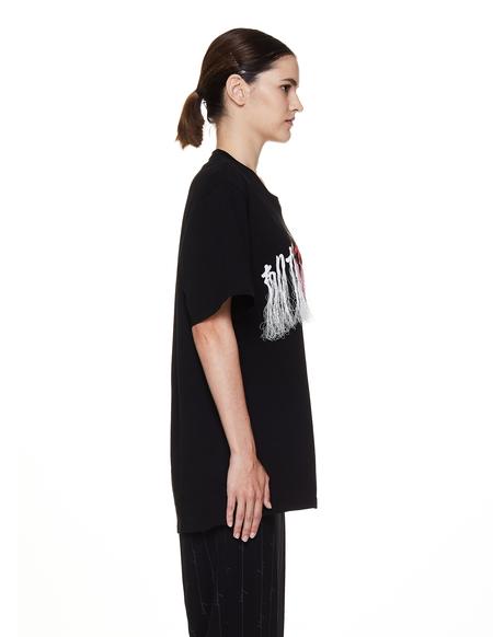 Doublet Cotton T-Shirt - Black