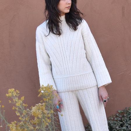 Kordal Tate Ribbed Sweater - Cream