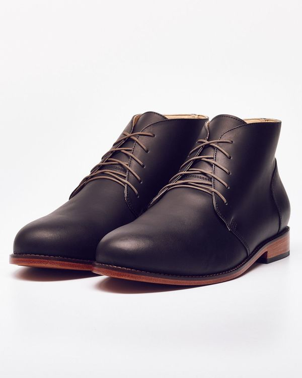 Men's Nisolo Emilio Chukka Boot Noir 5 for 5
