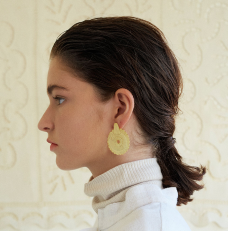 Après Ski Disco Earrings - Gold plated silver