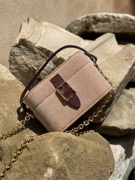 Officina del Poggio Micro Safari Bag - Cipria Velvet
