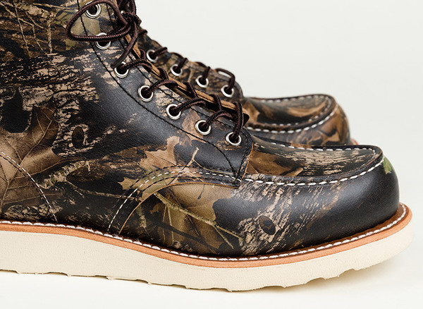 "Men's Red Wing Shoes 8884 Camo 6"" Moc Toe"