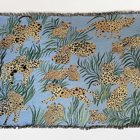 Olivia Wendel Cheetahs Blanket