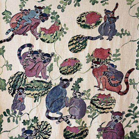 Olivia Wendel Lemurs Blanket