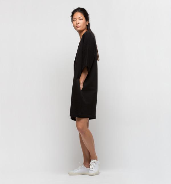 Kowtow Snap Shot Dress Black