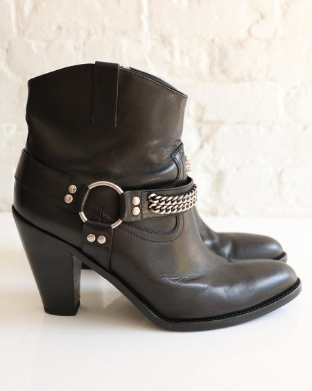 [pre-loved] Saint Laurent Curtis 80 Ankle Boot - Black