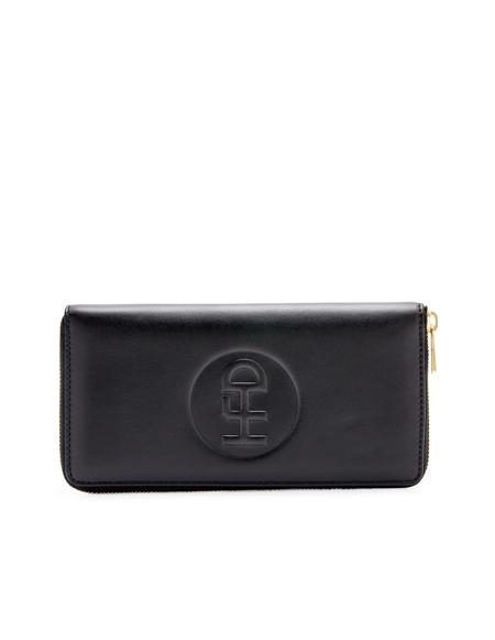 Honey Fucking Dijon Black Leather Wallet/Cable Holder