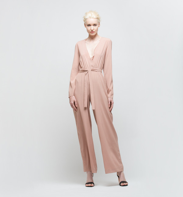 Ryan Roche Jumpsuit Rose