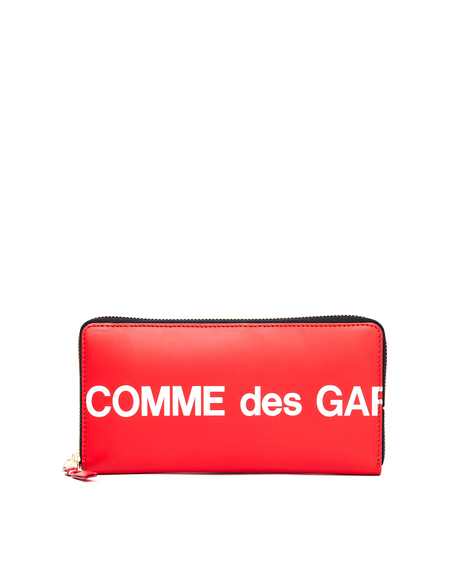 Comme des Garcons Leather Wallet - Red