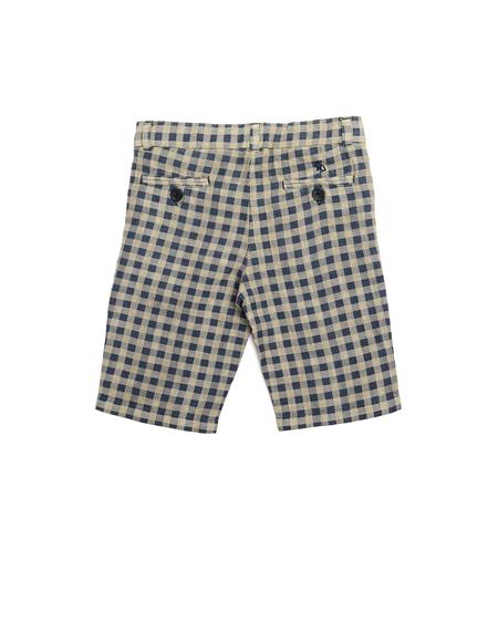 Lino Kids Linen Shorts - Beige