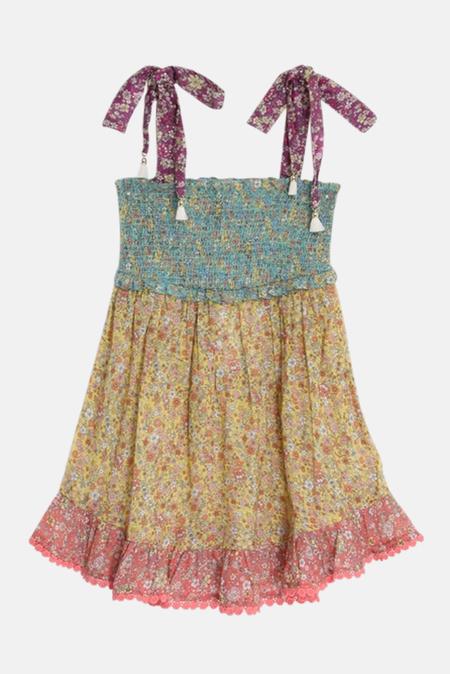 kids Zimmermann Carnaby Tie dress - Spliced