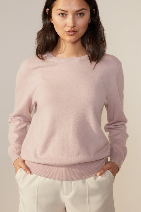 Laing Home The Essential Cashmere Crew - Dusky Pink