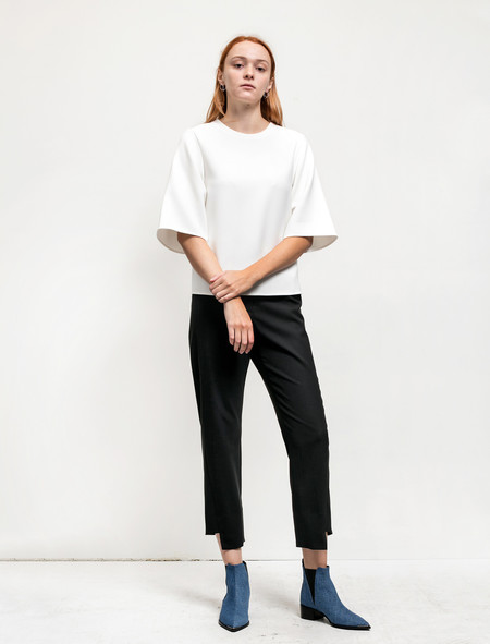 Acne Studios Womens Svea Blouse White