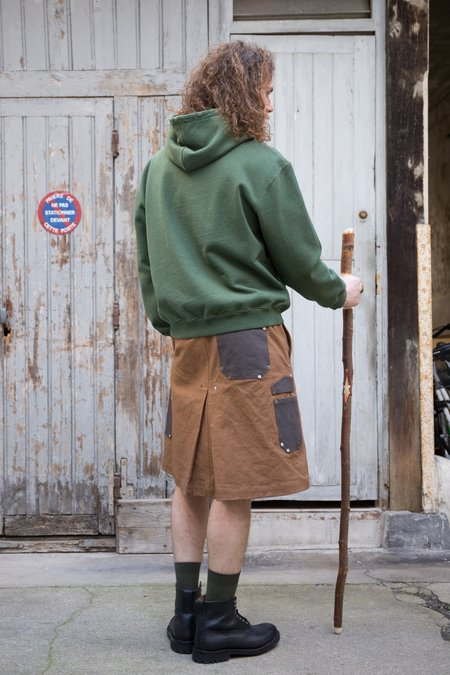 PHIPPS League of Dendrology Sweatshirt Fleece Hoodie - Moss