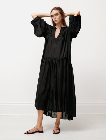 Totême Alassio Voile Dress - Black