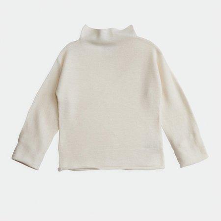 Kids elle Enfant Baby Funnel Sweater - Snow White