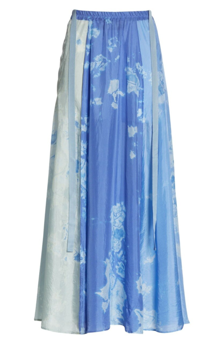 Raquel Allegra Silk Hand Dyed Skirt