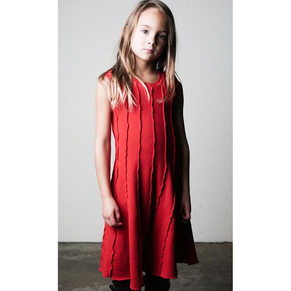 Kid's Mimobee Soho Panel Dress - Black