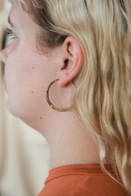 Point Reyes Jeweler Hoop Earrings - 14k gold-fill