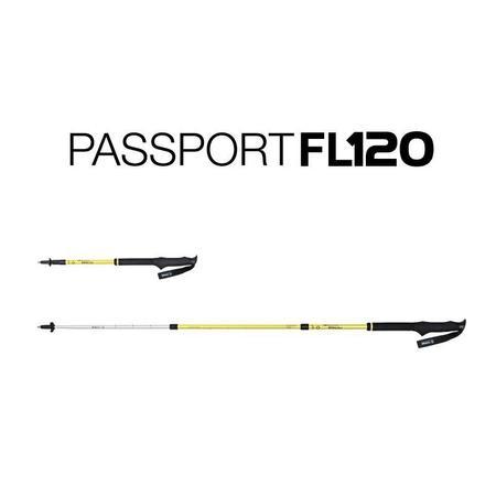 Helinox Passport FL120 Walking Poles - Melon
