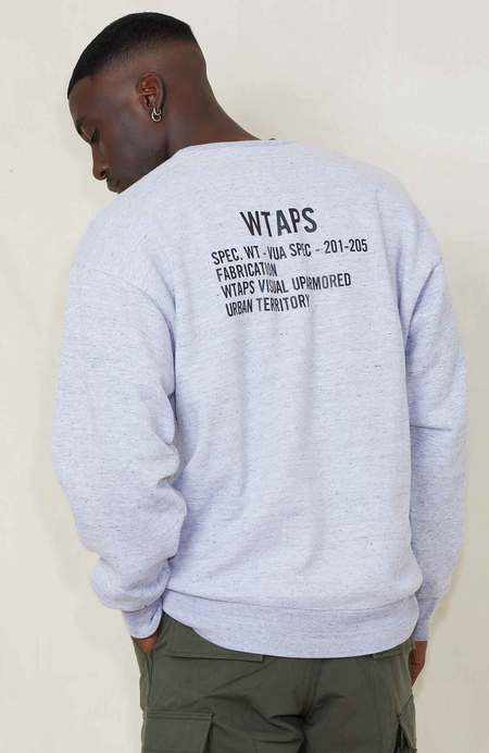 WTAPS Academy Crew Copo Logo Sweatshirt