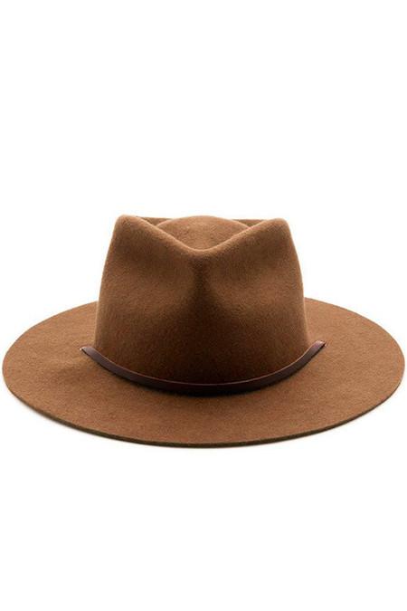 Yellow108 Eastwood Hat Caramel Wool