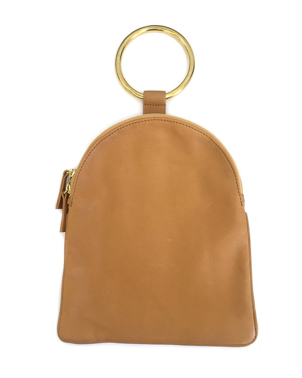 Otaat/Myers Large Ring Pouch in Camel