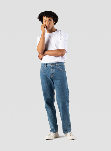 I AND ME Organic Selvedge Baggy Jean - vintage