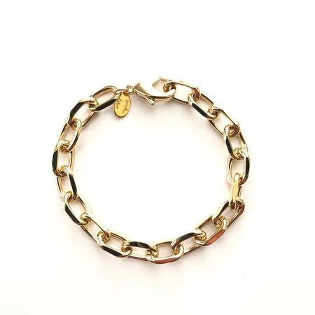 Jennifer Tuton Faceted Open Link Bracelet