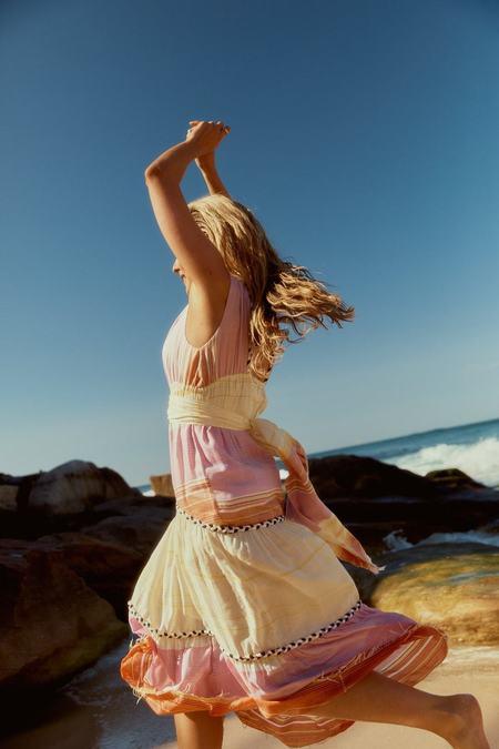 Jen's Pirate Booty Ilumine Dress - Sunset