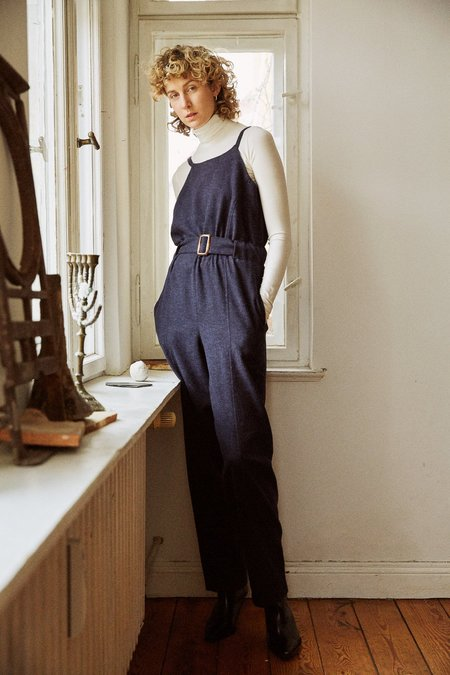Frisur Laura eco lannel Jumpsuit - earth