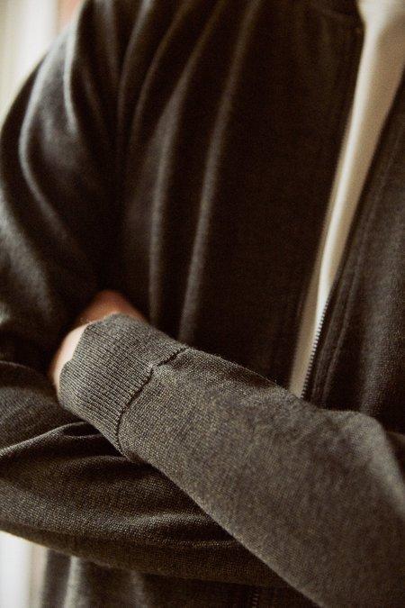 Frisur Theodor cardigan - merino black