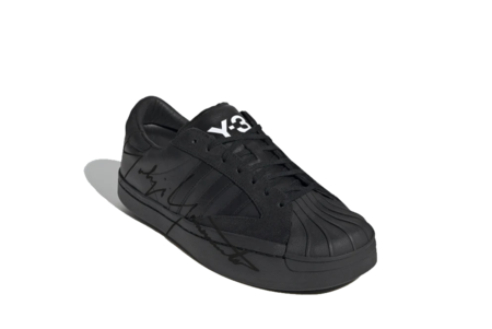 adidas x Y-3 Yohji Star Sneaker - Black/Black