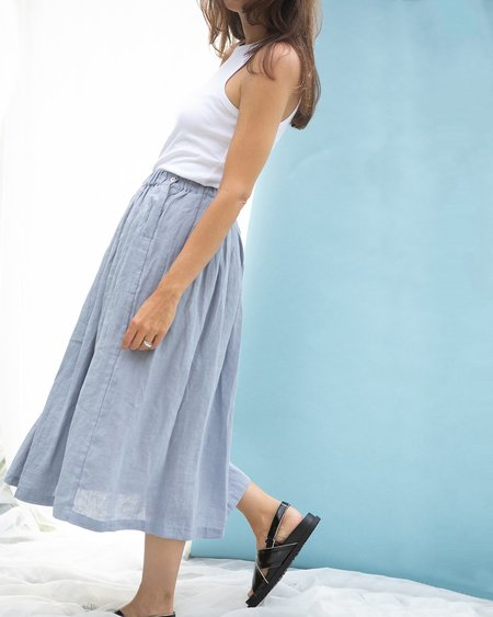 Puco Rosie Skirt - Chambray