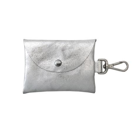 Tracey Tanner Bell Wallet - Foil Silver Leaf