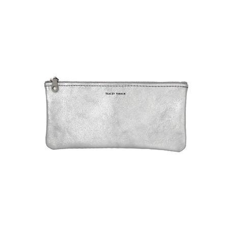 Tracey Tanner Eyewear Pouch - Silver Leaf Foil