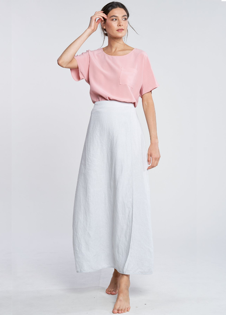 Filosofia Anna Wrap Skirt - Hazy Grey