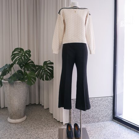 Rachel Comey Heavy Linen Sink Pant - Black