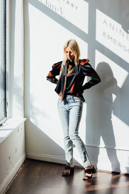 Mother Denim Mid Rise Dazzler Jeans - Marrakesh Nights