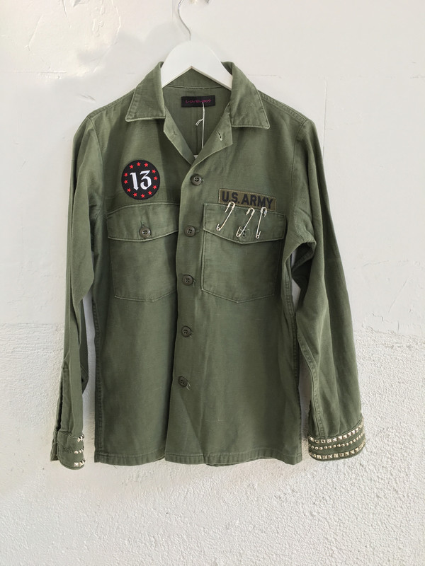Loveless Vintage Military Jacket