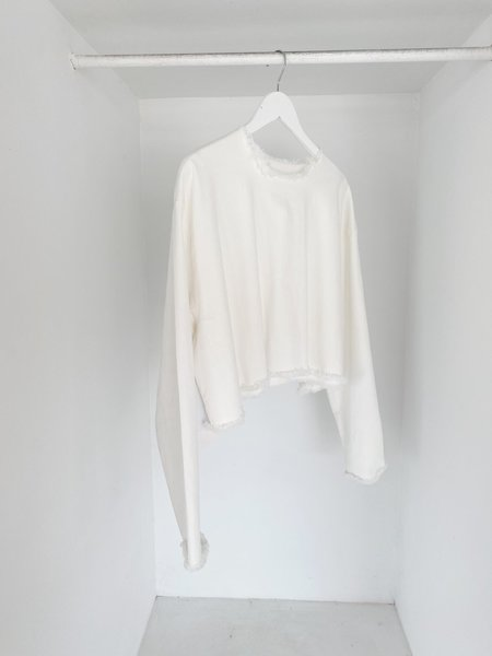 ASHLEY ROWE Long Sleeve - White