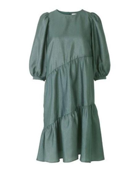 Just Female Mae Dress - Balsam Green