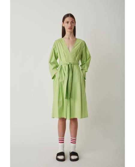 JUST FEMALE Verona Dress - Sap Green